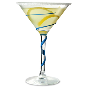 Spyro Martini Glasses Blue/Curacao 7.4oz / 210ml