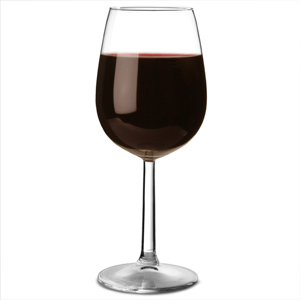 Bouquet Burgundy Wine Glasses 12.3oz LCE at 250ml