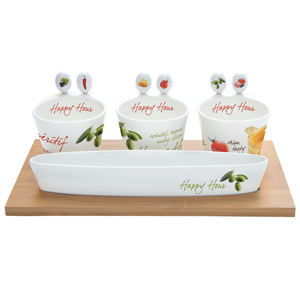 Easy Life Mediterraneo Appetizer Party Serving Set
