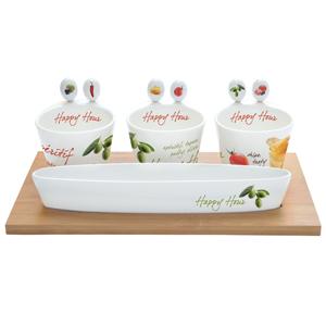 Easy Life Mediterraneo Appetizer Party Serving Set