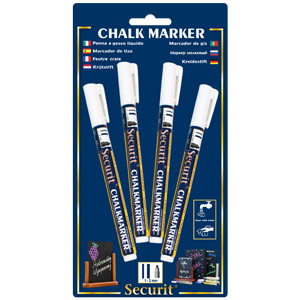 Securit Liquid Chalk Markers White