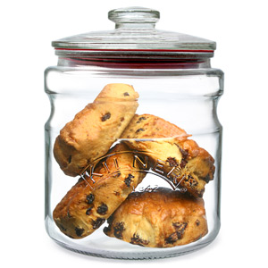 Kilner Push Lid Cookie Jar 2ltr