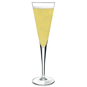 Luigi Bormioli Elegante Champagne Flutes 5.5oz / 160ml (Pack of 6) Image
