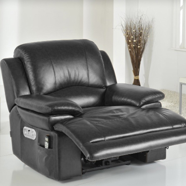 La Z Boy Gizmo Electric Recliner Black Drinkstuff