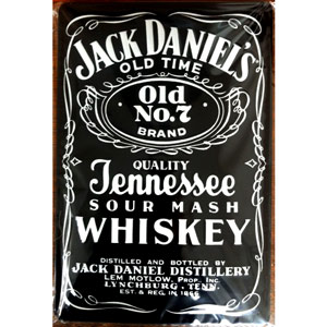Jack Daniel's Classic Black Label Plaque