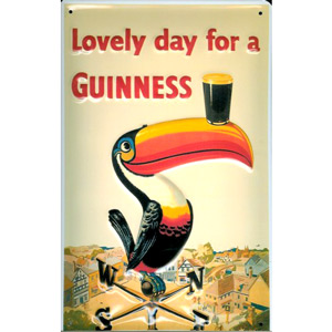 Guinness Toucan Plaque