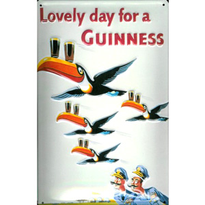 Lovely Day For A Guinness Plaque
