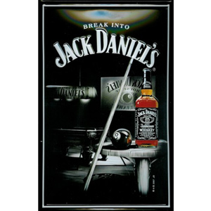 Jack Daniel's Pool Room Plaque