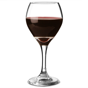 Perception Round Wine Glasses 10oz LCE at 175ml
