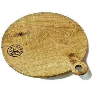 Rough Stuff Oak Classic Pizza Board 30cm