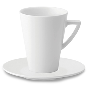 Deco Espresso Mug and Saucer 3.5oz / 100ml