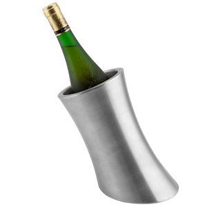 Stainless Steel Angled Wine Cooler