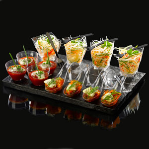 Compass 21 Piece Party Platter Set