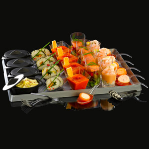 Compass 37 Piece Party Platter Set