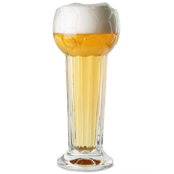 Football Trophy Beer Glass 31oz 900ml Drinkstuff