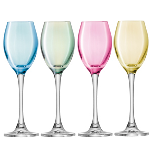 LSA Polka Liqueur Glasses 2.5oz / 70ml