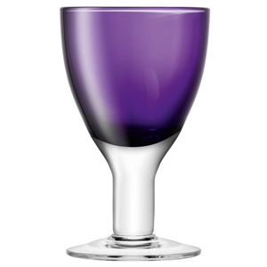 LSA Asher Wine Glasses Violet 6.2oz / 175ml
