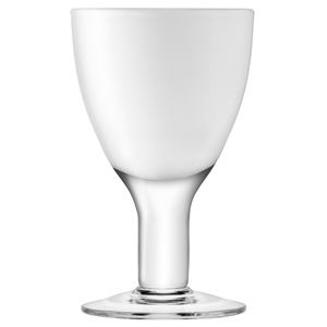 LSA Asher Wine Glasses White 6.2oz / 175ml