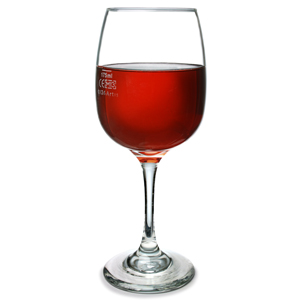 Sonoma Red Wine Glasses 10.4oz LCE at 175ml