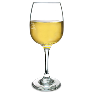 Sonoma White Wine Glasses 8.5oz LCE at 125ml