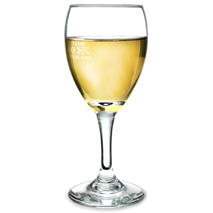 Teardrop Tear Wine Glasses 6.5oz LCE at 125ml