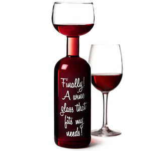 Wine Bottle Glass 25.4 oz / 750ml