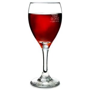 Teardrop Tear Wine Glasses 85oz 250ml Lce At 175ml Set Of 4