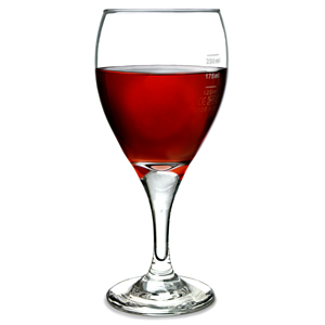 Teardrop Tear Wine Glasses 12.5oz LCE at 125ml, 175ml & 250ml