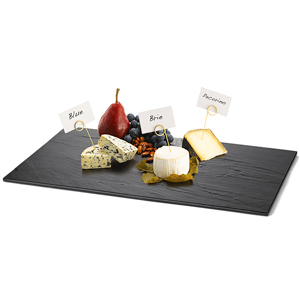 Frostone Melamine Display Tray Black 20.75 x 12.75inch