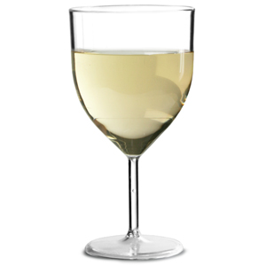 Econ Polystyrene Wine Glasses 5oz / 142ml