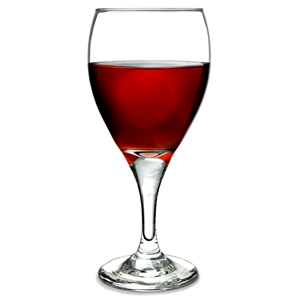 Teardrop Tear Wine Glasses 12.5oz / 355ml LCE at 250ml