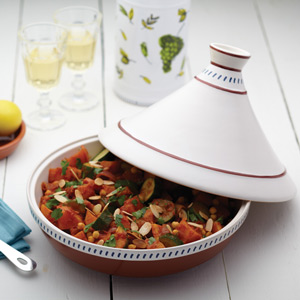World of Flavours Mediterranean Patterned 30cm Tagine