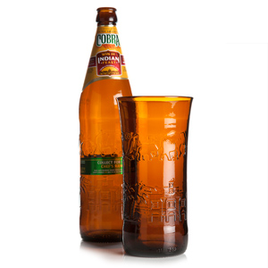 Recycled Cobra Bottle Pint Glass 20oz / 568ml