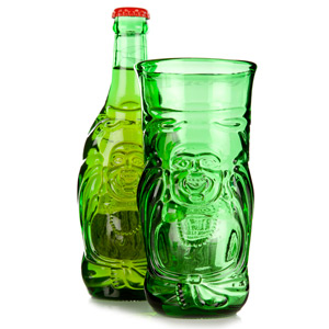 Lucky Buddha Beer Bottle Glass 11.6oz / 330ml