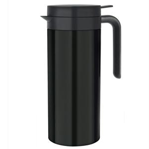 Elia Cylinder Vacuum Jug JFS Black 1ltr