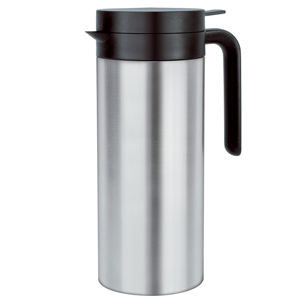 Elia Cylinder Vacuum Jug JFS Stainless Steel 1ltr