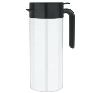 Elia Cylinder Vacuum Jug JFS White 1ltr