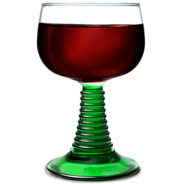 Romer Wine Glasses 9oz 270ml Coloured Glassware German