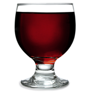 Embassy Stacking Wine Goblets 10.6oz LCE at 250ml