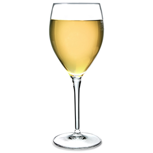 Gourmet White Wine Glasses 12.1oz LCE at 250ml