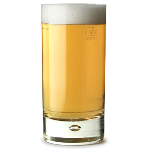 Original Disco Beer Glasses 12oz LCE at 10oz