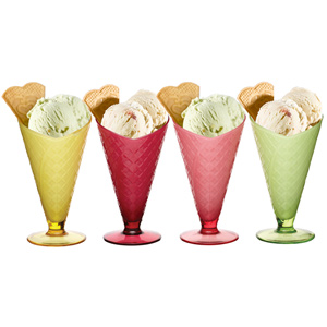 Coolmovers Sherbet Ice Cream Serving Dishes
