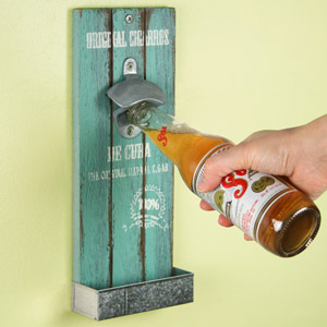 Mexican Style Wall Mounted Bottle Opener 30cm Original Cigarros