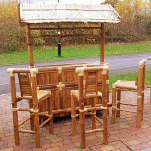 Bamboo Tiki Home Bar