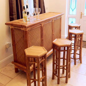 Bamboo Fiji Home Bar