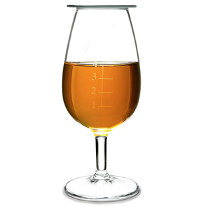 Urban Bar Graduated Taster Glasses with Lid 4.9oz / 140ml