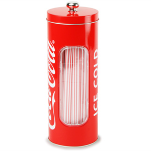 Coca Cola Straw Dispenser