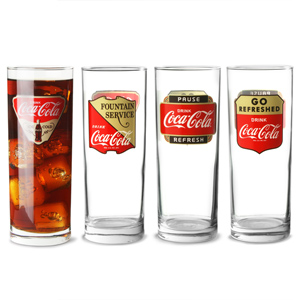 Coca Cola Hiball Glasses 16.9oz / 480ml