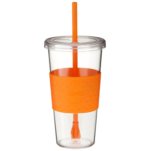 Copco Stir 'n Sip Tumbler Orange 24oz / 709ml