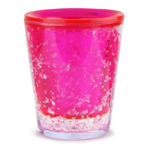 Sub Zero Freezer Shot Glass Pink 1.75oz / 50ml
